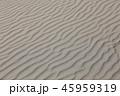 風紋 砂 砂浜の写真 45959319