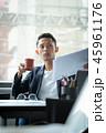 ビジネス ビジネスマン デスクワークの写真 45961176