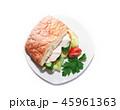 ファストフード チシャ レタスの写真 45961363