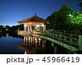 奈良公園 浮見堂 鷺池の写真 45966419