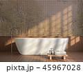 浴室 お風呂 風呂のイラスト 45967028