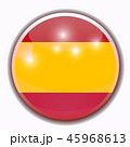 Bright background with flag of Spain. Happy Spain day background. Bright illustration with flag. 45968613