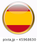 Bright background with flag of Spain. Happy Spain day background. Bright illustration with flag. 45968630