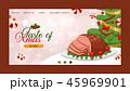 食 料理 食べ物のイラスト 45969901