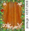 クリスマス クリスマスツリー 背景のイラスト 45971908