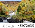 苗名滝 地震滝 秋の写真 45972035