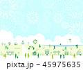 花火 夏 グリーンのイラスト 45975635