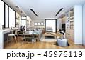 家具 インテリア リビングルームのイラスト 45976119