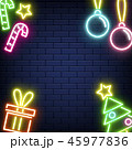 ベクター クリスマス ネオンのイラスト 45977836