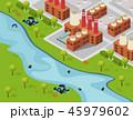工業 産業 エコのイラスト 45979602