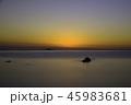 海 夕焼け 夕暮れの写真 45983681