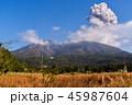 桜島 噴火 活火山の写真 45987604