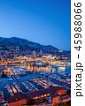 モナコ 夜 ポートの写真 45988066