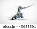 kendo abstract silhouette 1 vector ver. 45988691