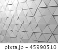 Abstract white triangles background pattern 45990510