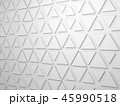 Extruded triangles pattern on wall, 3d 45990518