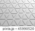 Triangles pattern, 3d render illustration 45990520