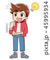 男の子 (アニメ・ゲーム風テイスト) 45995934