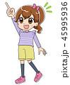 女の子(アニメ・ゲーム風テイスト) 45995936