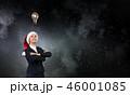 サンタ サンタクロース 女の写真 46001085