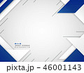 Abstract of futuristic blue and white geometric. 46001143
