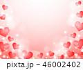 ハート 輝き ハート柄のイラスト 46002402