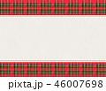 チェック チェック模様 フレームのイラスト 46007698
