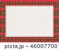 チェック チェック模様 フレームのイラスト 46007700