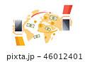 ビジネス 商売 オンラインのイラスト 46012401