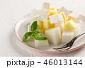 サラダ サラダ くだものの写真 46013144
