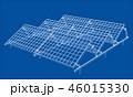 3Dイラスト アウトライン パネルのイラスト 46015330