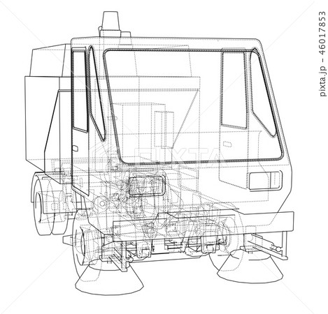 Small Street Clean Truck Concept 46017853