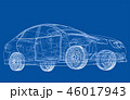 車 自動車 立体のイラスト 46017943
