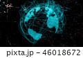 地球 グローバル ネットワークのイラスト 46018672