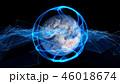 地球 グローバル ネットワークのイラスト 46018674