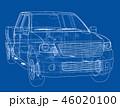 立体 3D 3Dのイラスト 46020100