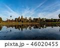 カンボジア・アンコールワット リフレクティング池からの撮影 46020455