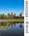 カンボジア・アンコールワット 縦構図 46020486