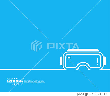 Abstract creative concept vector line draw background for web, mobile app, illustration template 46021917
