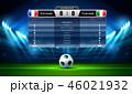 サッカー フットボール 蹴球のイラスト 46021932