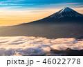 富士山 富士 雲海の写真 46022778