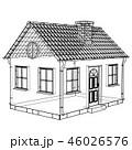 住宅 図案 ハウジングのイラスト 46026576