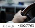 運転イメージ ハンドルを握る手 perming 写真素材 46027763