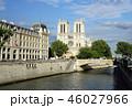 ノートルダム寺院 フランス観光 パリ 遊覧船 クルーズ セーヌ川クルーズ 46027966