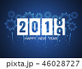 2019 新しい年 新年のイラスト 46028727