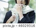 女性 寒い 旅行の写真 46029316