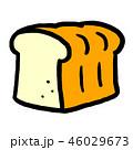 パン 食べ物 食パンのイラスト 46029673