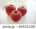 林檎 3個 perming 写真素材 46033189