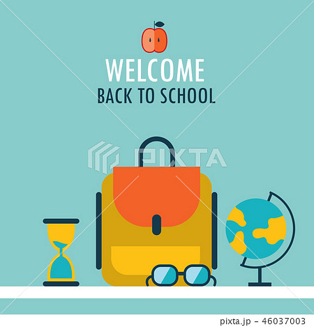 Welcome back to school background  46037003