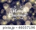 クリスマス 雪 結晶のイラスト 46037196